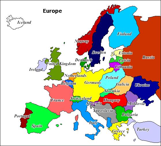 Europe Cold Phoney War Alternative History