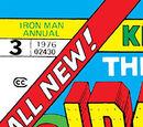 Iron Man Annual Vol 1 3