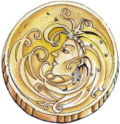 Waukeen symbol
