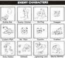 Mega Man 2 enemies