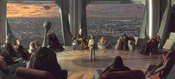 Salon del Alto Consejo Jedi