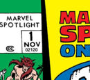 Marvel Spotlight Vol 1 1