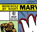 Werewolf by Night Vol 1 41