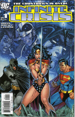 Cover for Infinite Crisis #1 (2005)