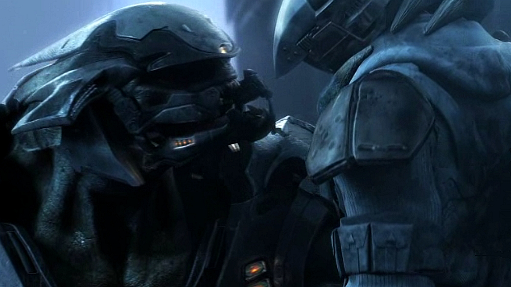 Halo Wars Elite FileElite and marine jpg