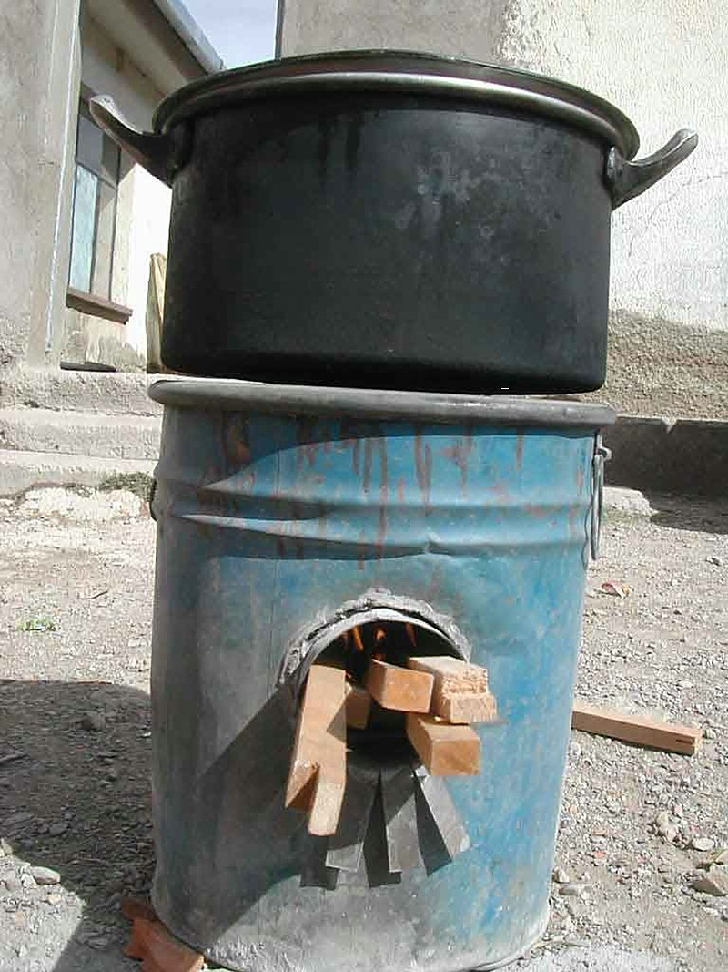 Rocket Stove Solar Cooking
