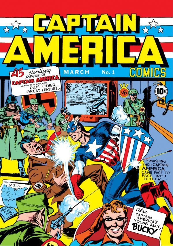 Captain America Comics Covers Captain America Comics Vol 1 1