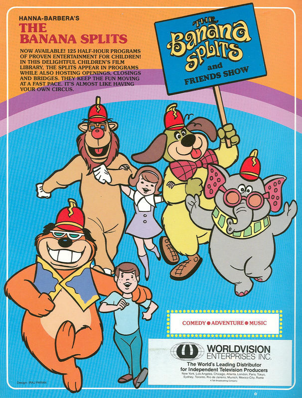 The Banana Splits Puppet Wikia Puppeteering Puppets Marionettes