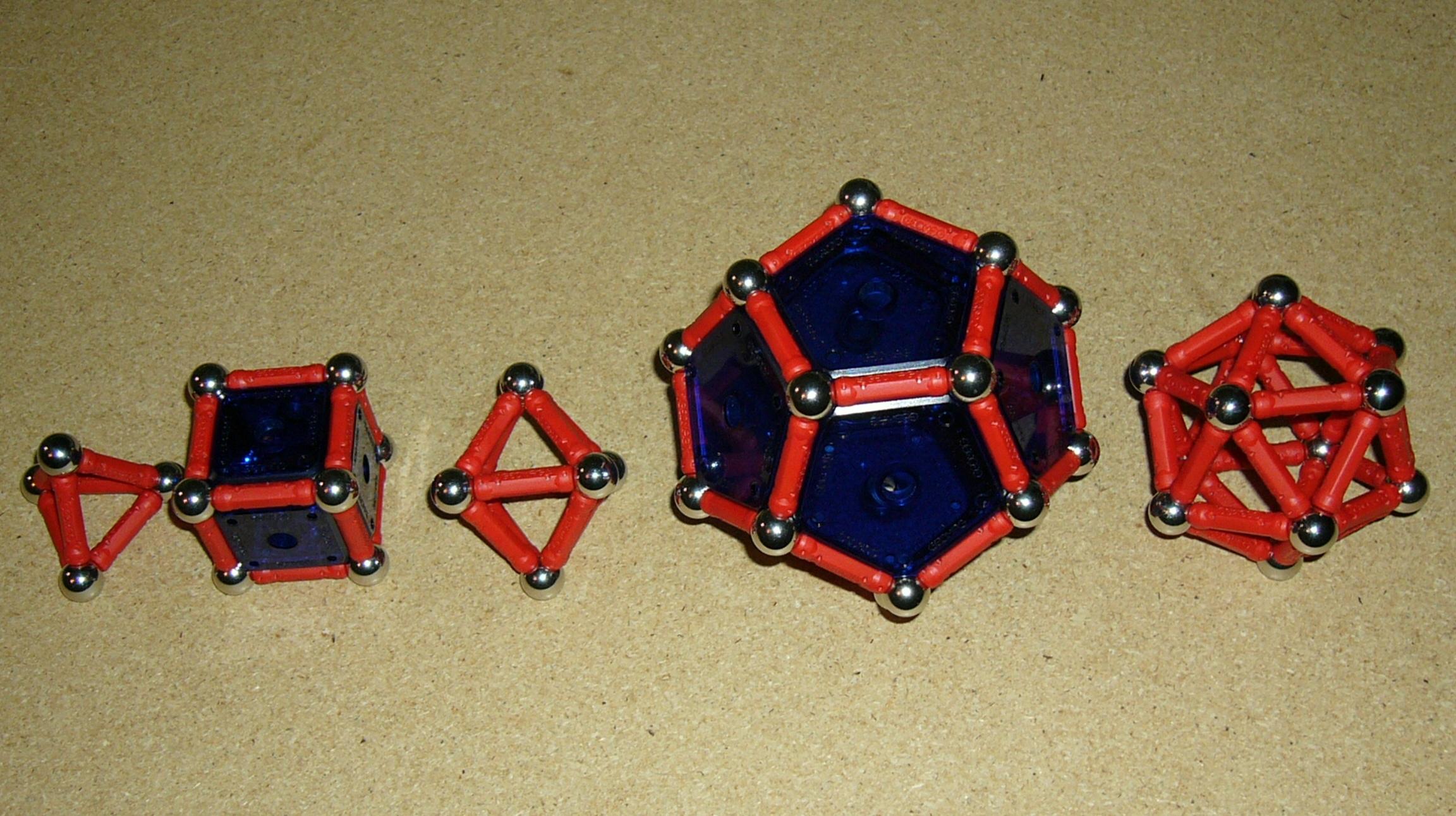Platonic SolidsPlatonic Solid Net