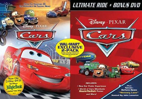 cars home video pixar wiki disney pixar animation studios. Black Bedroom Furniture Sets. Home Design Ideas