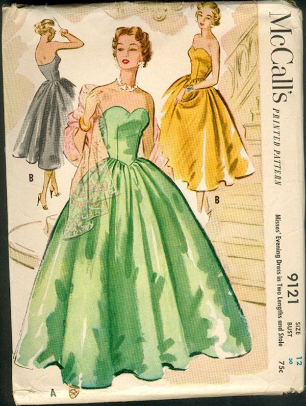 vintage ball gown patterns | Fashion Gallery