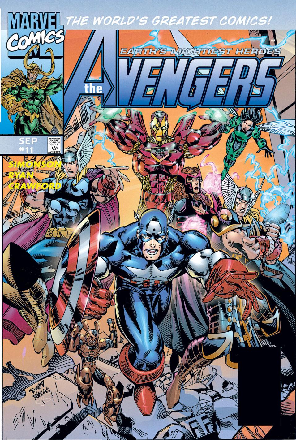 Avengers heroes reborn earth 616 marvel comics database - Heros avengers ...