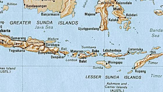 Download this Sunda Islands picture