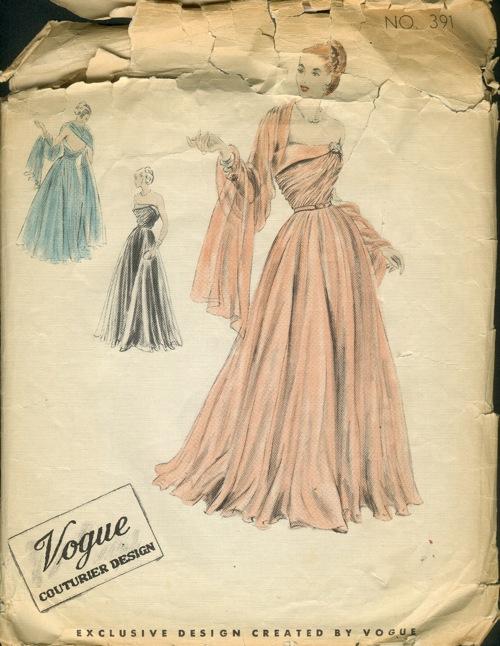Vogue 391 Vintage Sewing Patterns Wikia