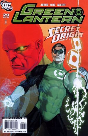 Cover for Green Lantern #29 (2008)