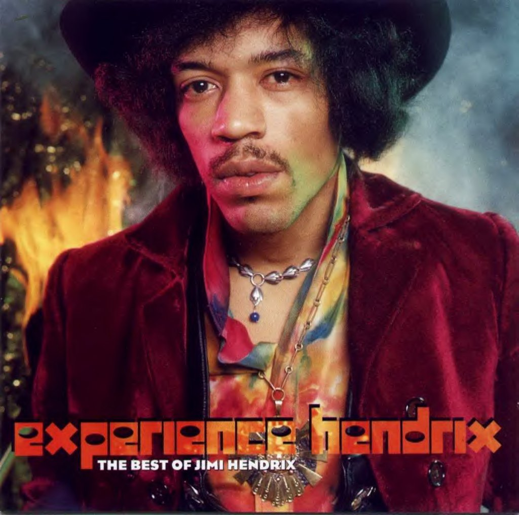 The cover of the 1998 compilation album experience hendrix the best