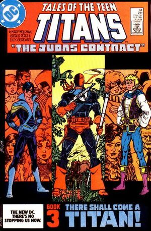 Cover for Tales of the Teen Titans #44 (1984)