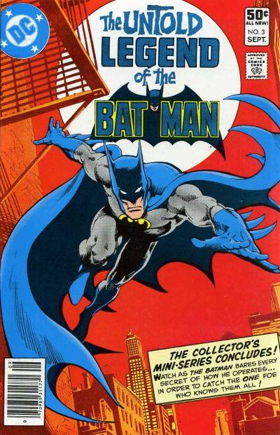 Untold Legend Of The Batman Vol 1 3 DC Comics Database