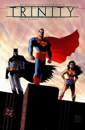 Cover for Batman/Superman/Wonder Woman: Trinity #1 (2003)