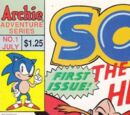 Sonic the Hedgehog (comic series)/Covers