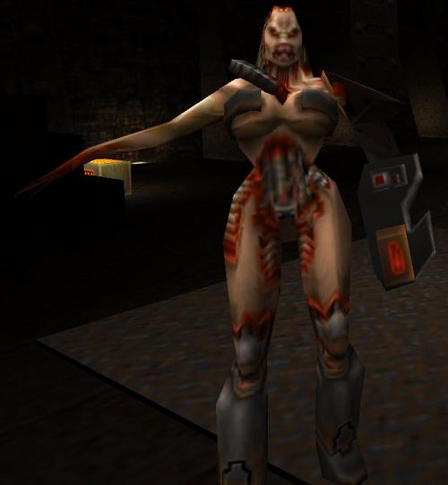 Quake II enemies - QuakeWiki Quake Chthon