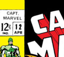 Captain Marvel Vol 1 12