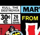 Kull the Destroyer Vol 1 20