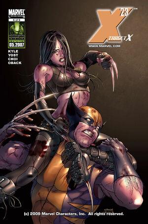 x 23 marvel comics  300px-X-23_Target_X_Vol_1_...