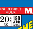 Incredible Hulk Vol 1 150
