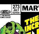 Incredible Hulk Vol 1 273