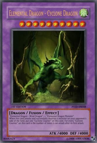 Elemental Dragon - Yu-Gi-Oh Card Maker Wiki - Cards, decks ... Element Dragon Yugioh