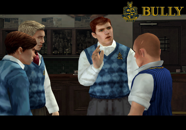 Bully Game Preppies Vandalized