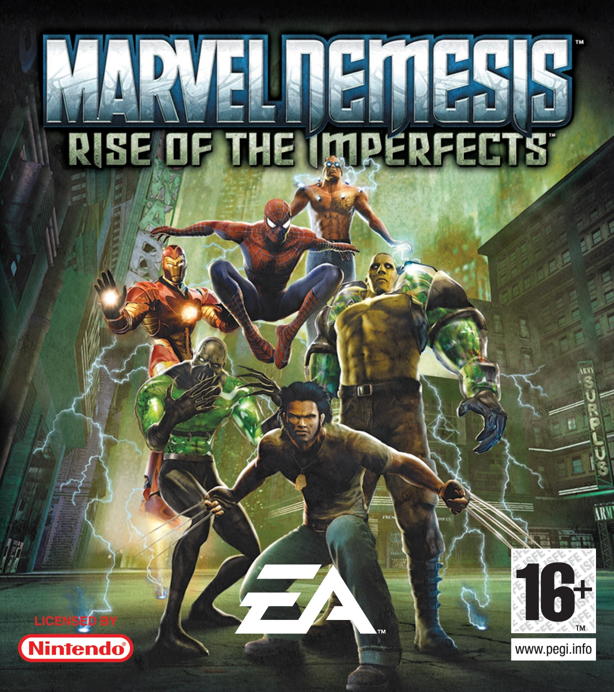 Marvel Nemesis Rise Of The Imperfects Cheats Xbox