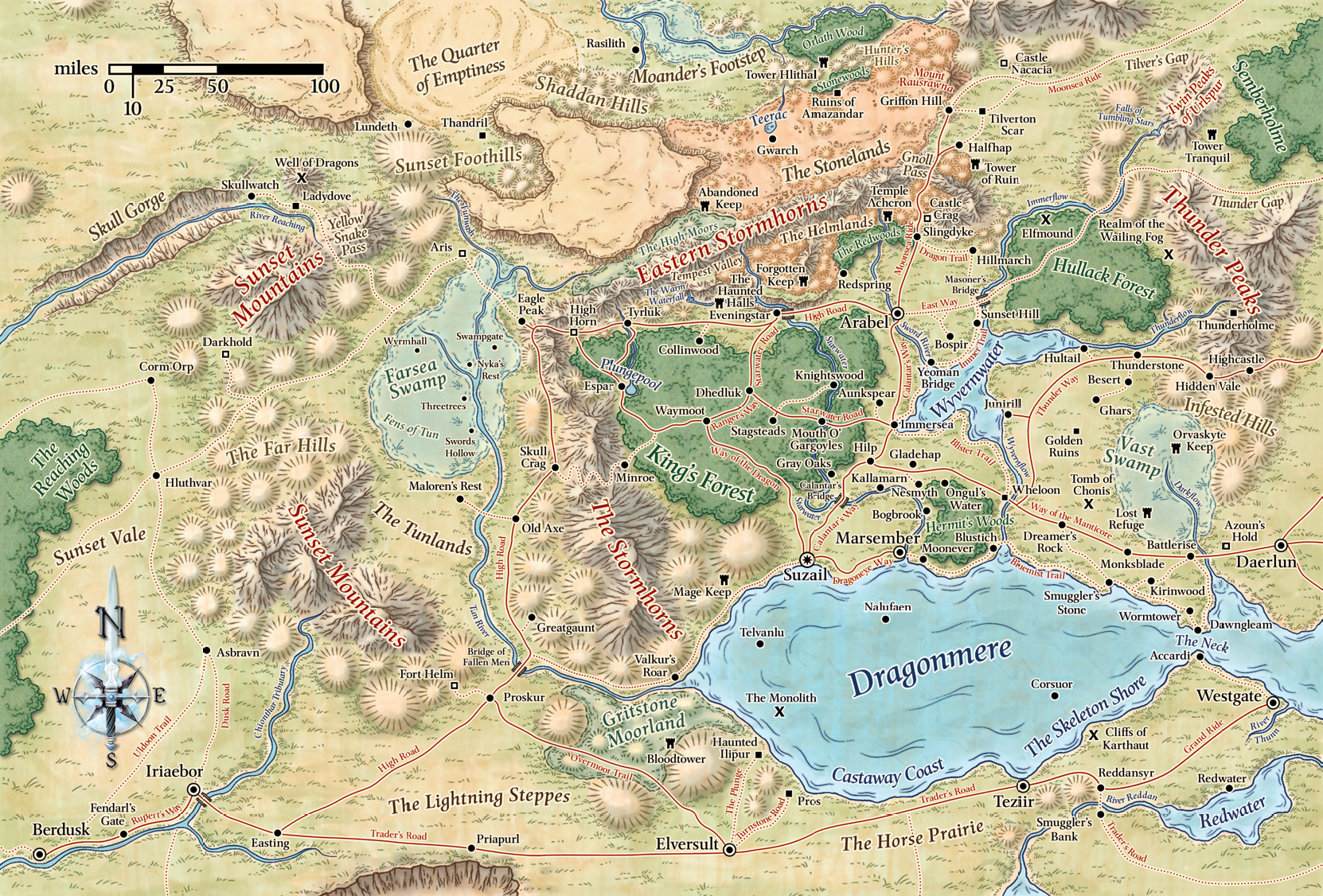 Cormyr The Forgotten Realms Wiki Books Races Classes