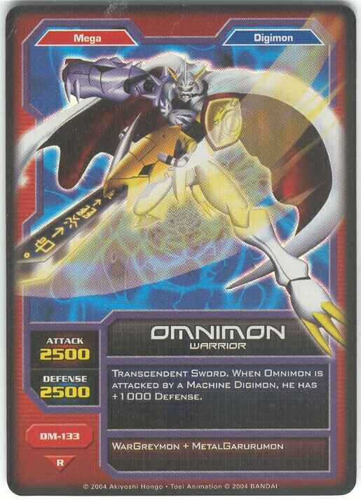 Card:Omnimon - Digimon Wiki: Go on an adventure to tame ... | 515 x 713 jpeg 41kB