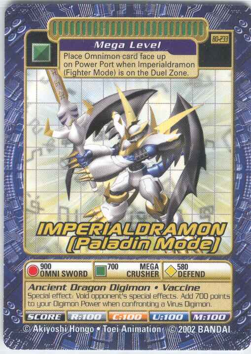 imperialdramon card - photo #2