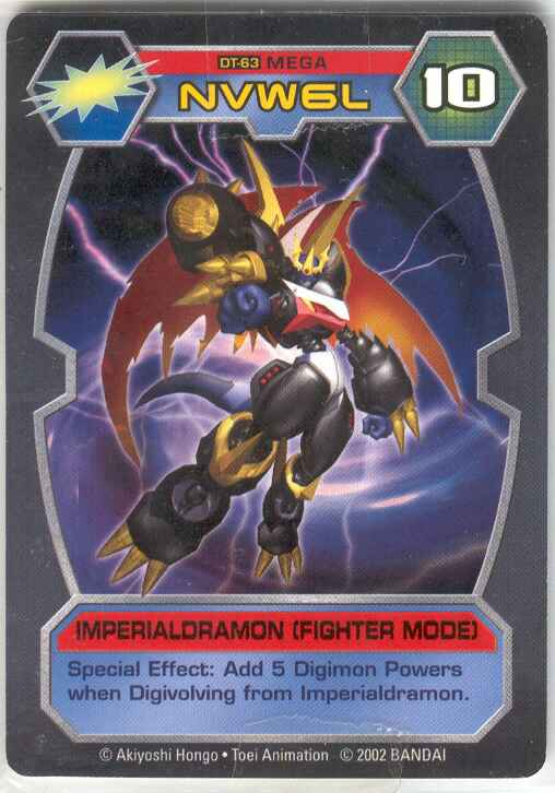 imperialdramon card - photo #16