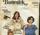 Butterick 3851 A