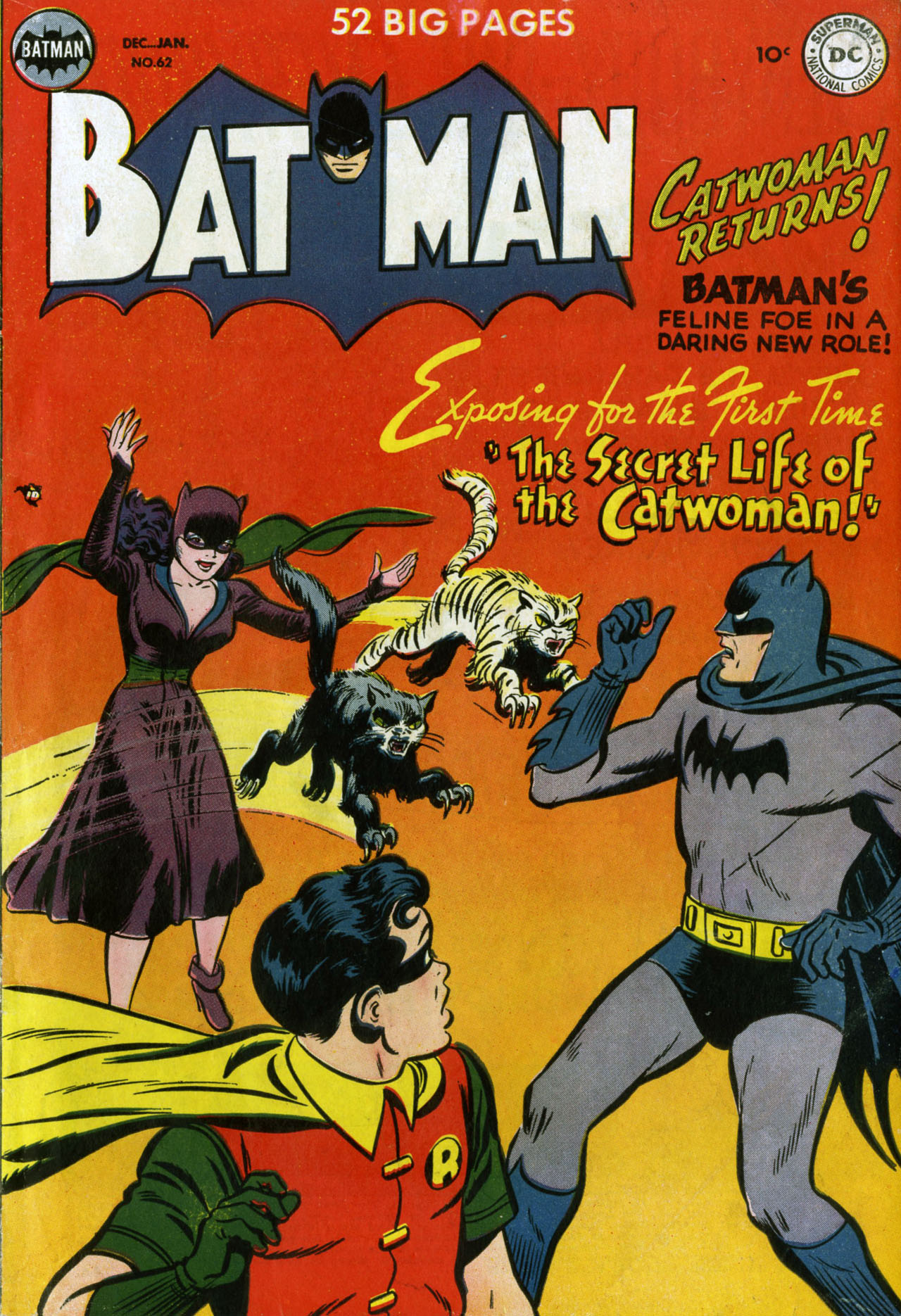 Cover for batman 62 1950