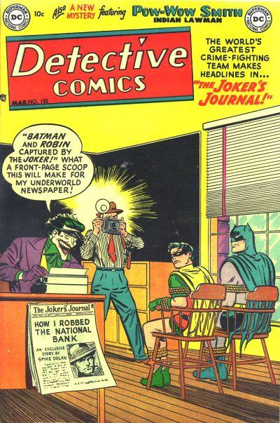 detective comics vol 1 193 dc comics database