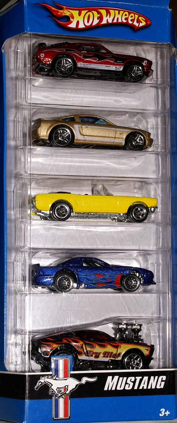 Red Wing Ford >> Mustang 5-Pack - Hot Wheels Wiki
