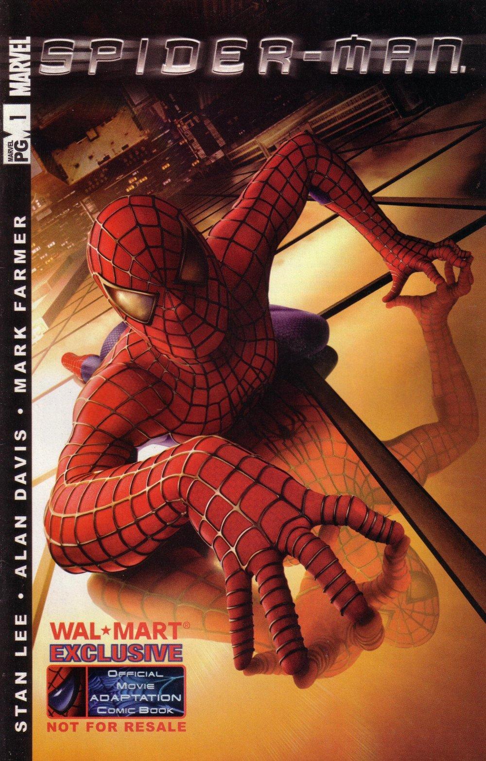 spider man the official movie adaptation vol 1 1 variant. Black Bedroom Furniture Sets. Home Design Ideas