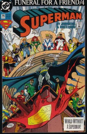 Cover for Superman #76 (1993)