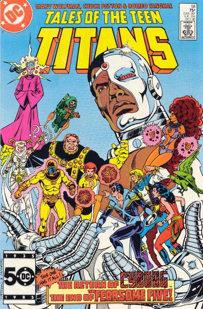 Think, that Tales of the teen titans topic