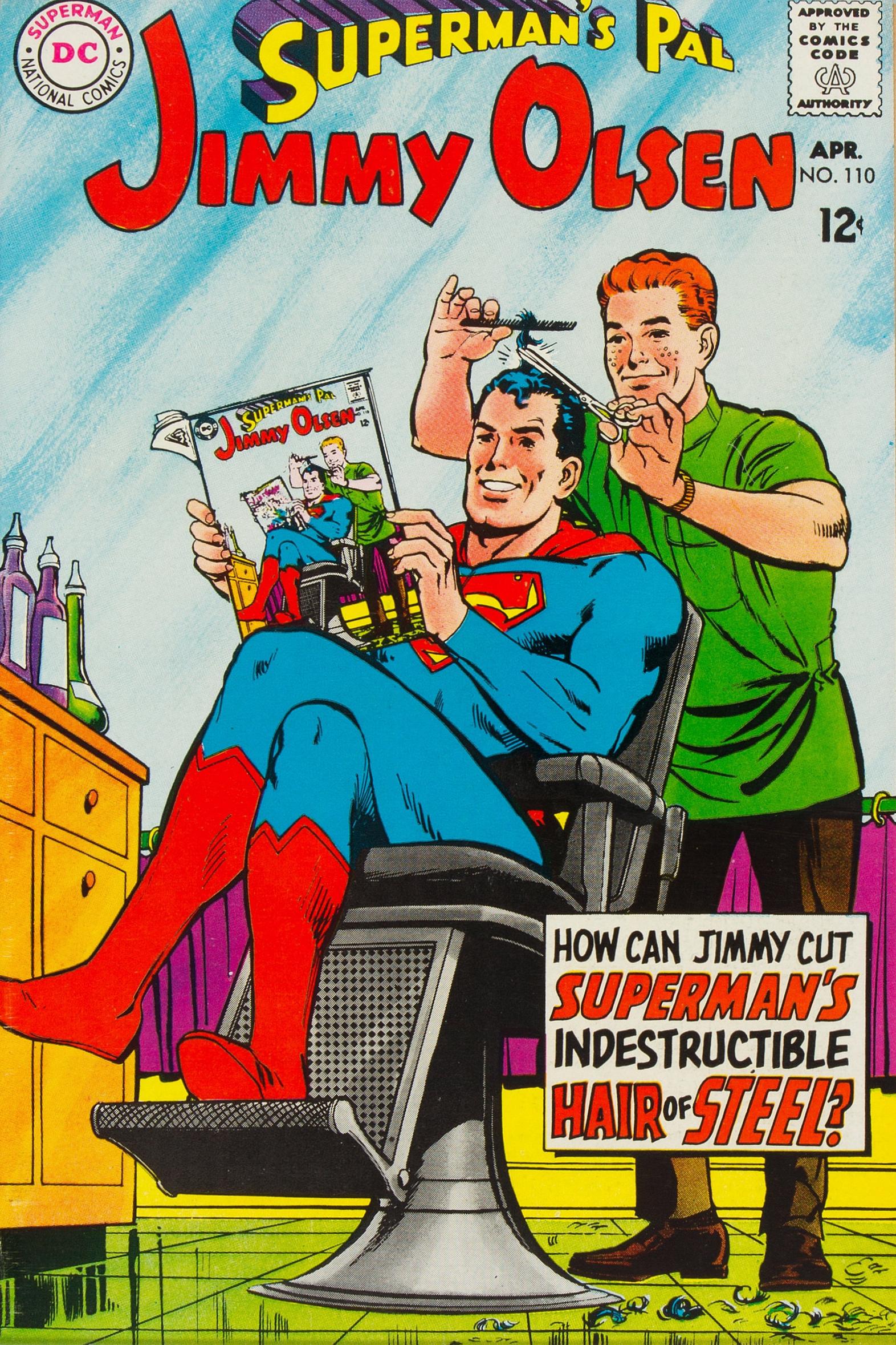 Superman S Pal Jimmy Olsen Vol 1 110 Dc Comics Database