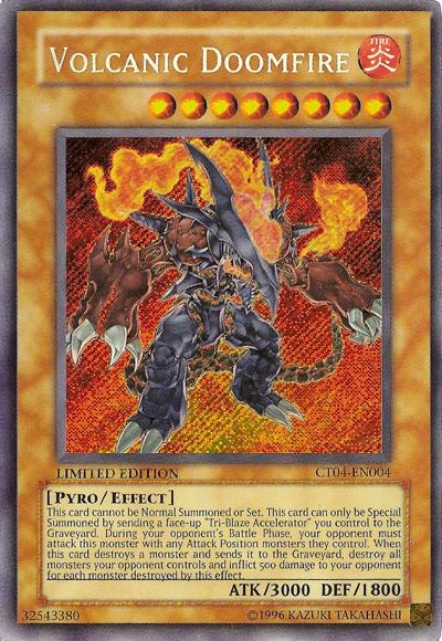 Volcanic Doomfire Yu Gi Oh Wikia