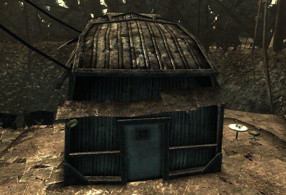 Jericho 39 s house fallout wiki wikia for Jericho house