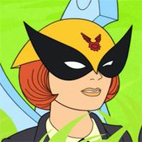 Birdgirl harvey birdman desnuda