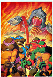 1TMNT-TOS VHS-HEROES-in-Halfshell isolated