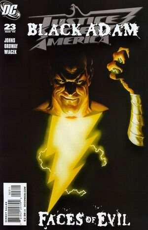 Cover for Justice Society of America #23 (2009)